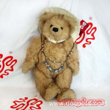 luxury faux fur teddy bear
